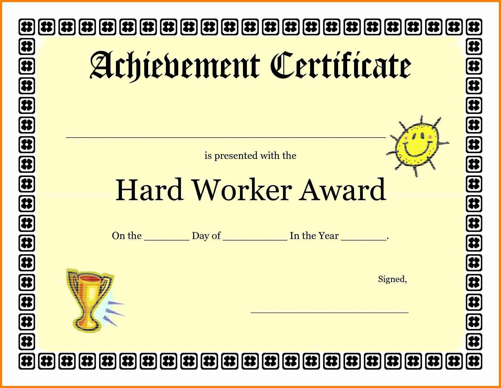 Good Job Certificate Template Quick Askips with Good Job