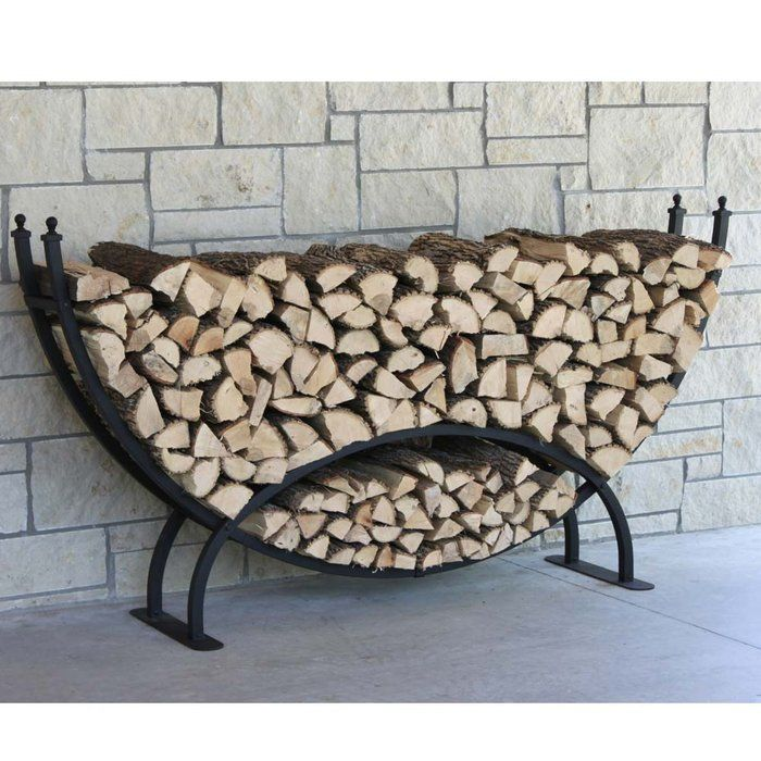 Crescent Firewood Rack Need To Check Home Depot Maybe They Ll