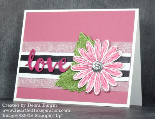 Debra burgin stampin up daisy delight not too pink just cards m4hsunfo Gallery