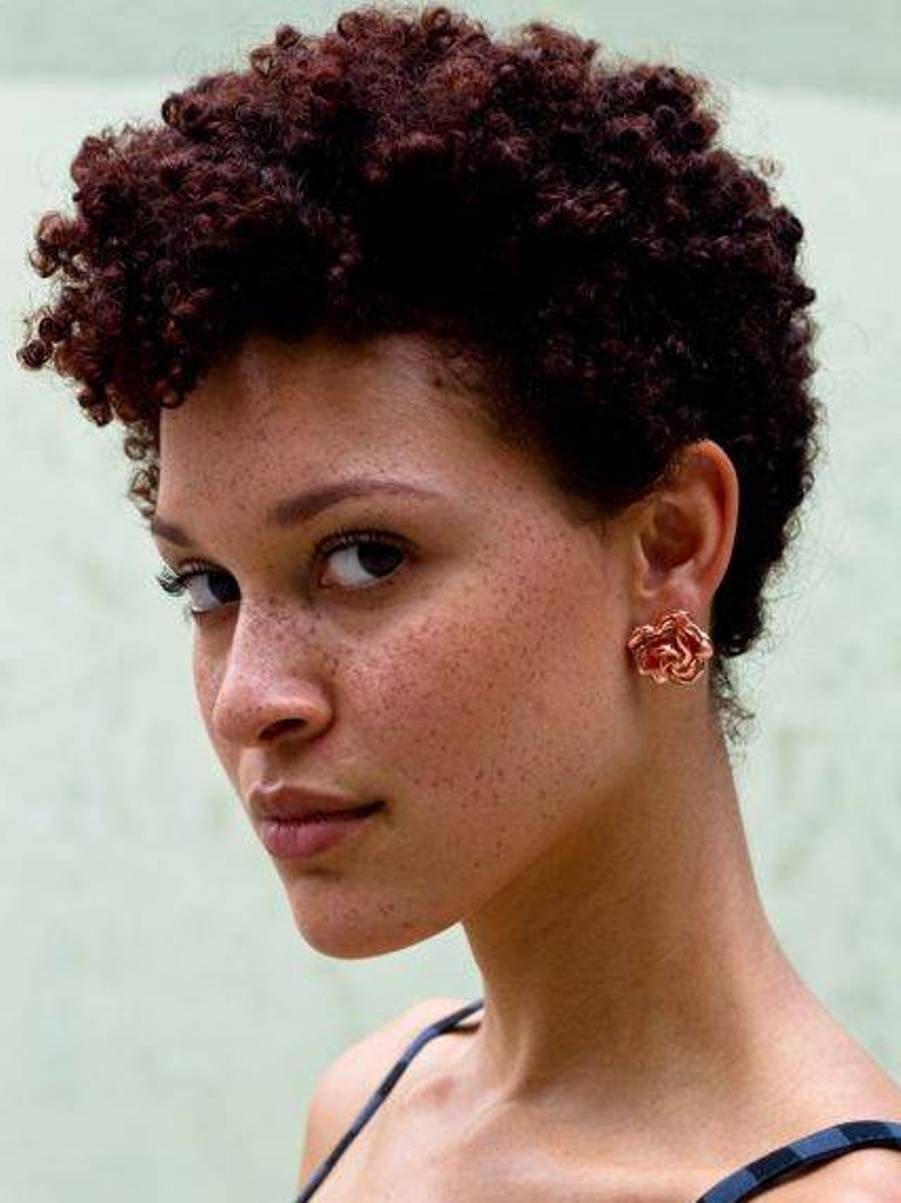 short natural hairstyles for black women | simple hairstyles