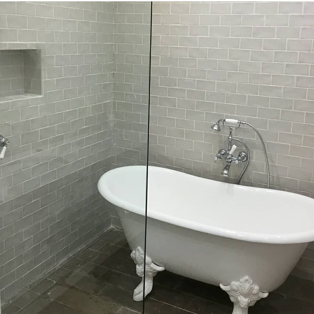 Prodigg Bathrooms Cast Iron Bathtub Used In A Renovation From Hunter  Bathrooms. Sydney, Australia