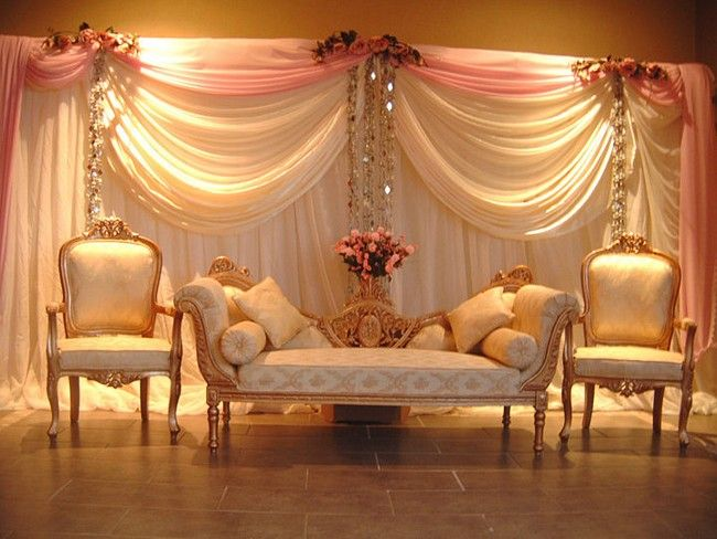 These Indoor Ceremony Backdrops Will Make You Pray For: 100+ Venue And Stage Decoration Ideas