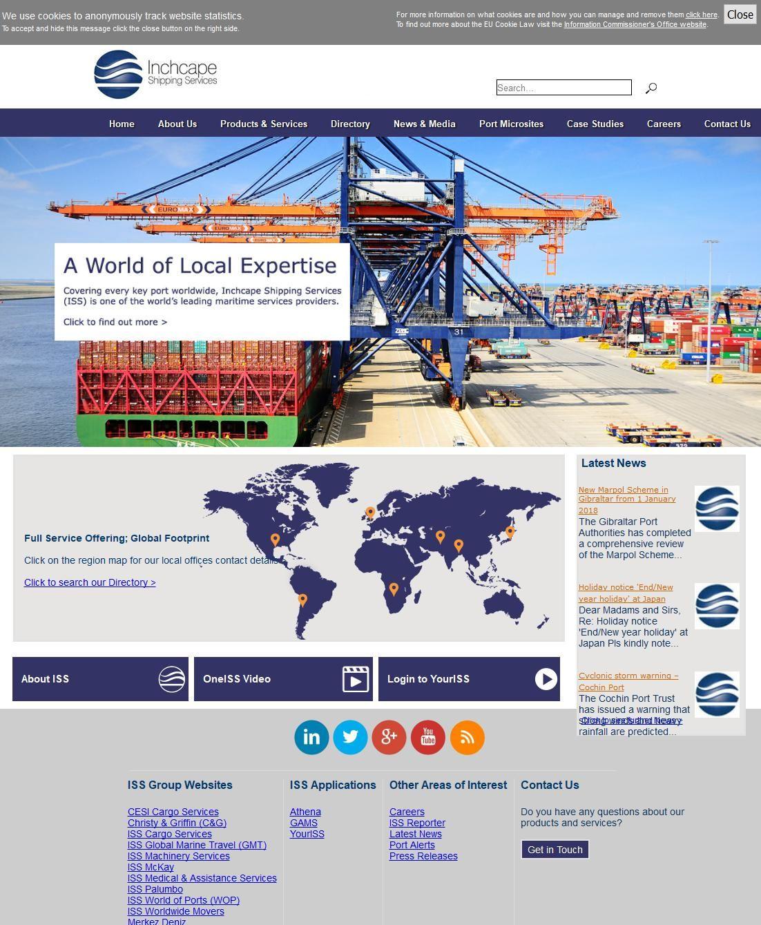 Inchcape Shipping Service Company 39, 3b Street G Floor Al