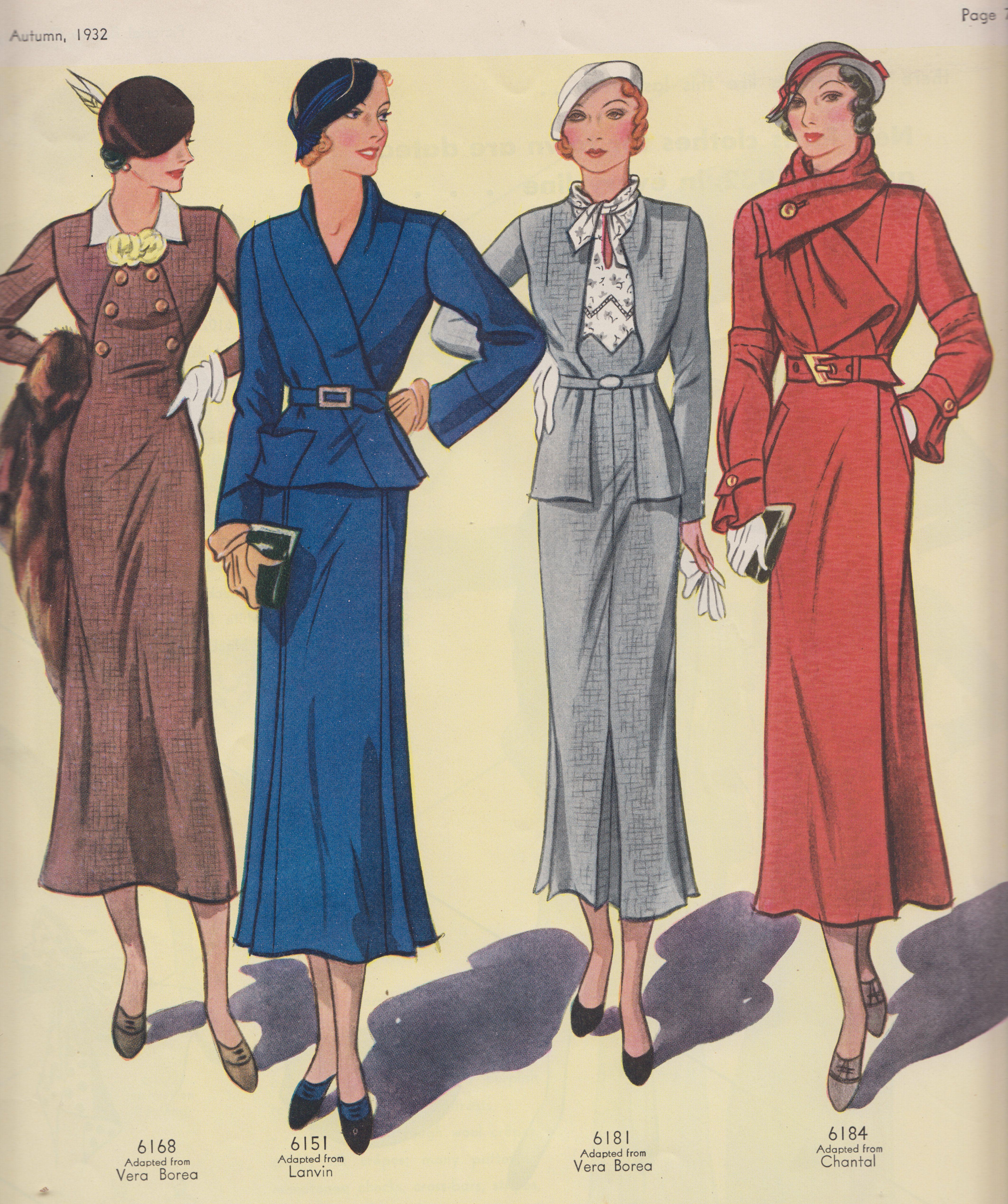 Paris Fashions 1932   Printables : Fodder for Art Journaling/Mixed ...