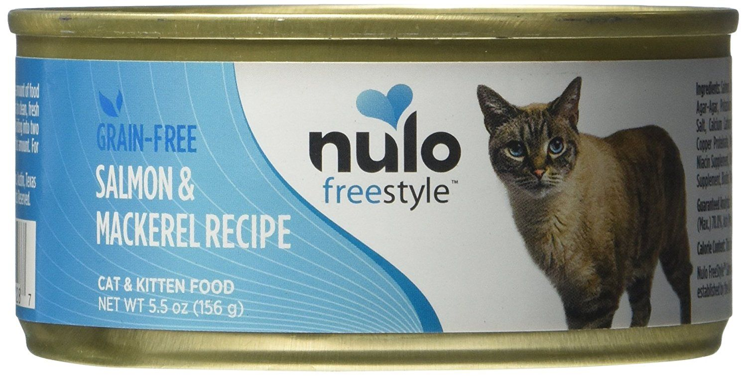 Nulo Grain Free Cat Salmon Can Case Of 12 5 5 Oz Check This Awesome Image Cat Food Free Cats Cat Food Kitten Food