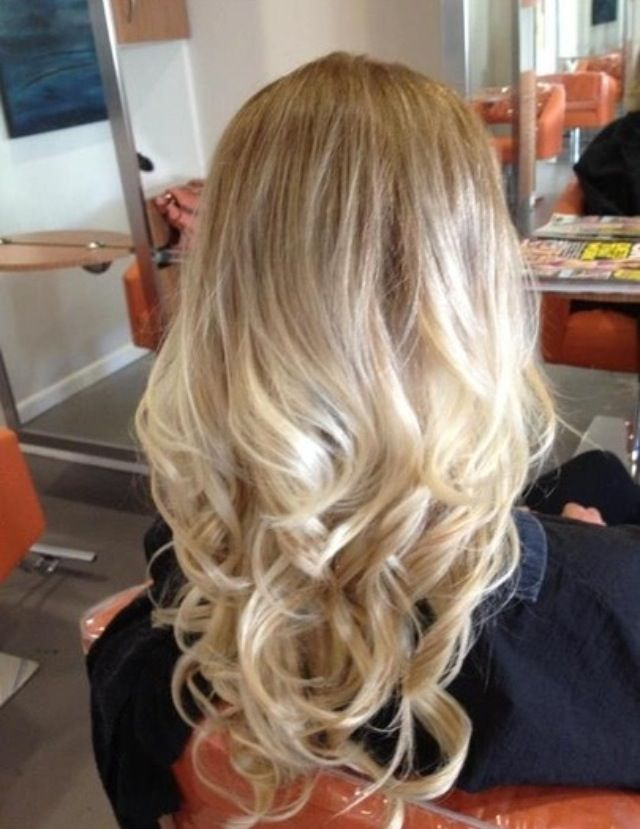 Blonde Ombre As Soon As The Hair Is Long Enough Ombre Hair