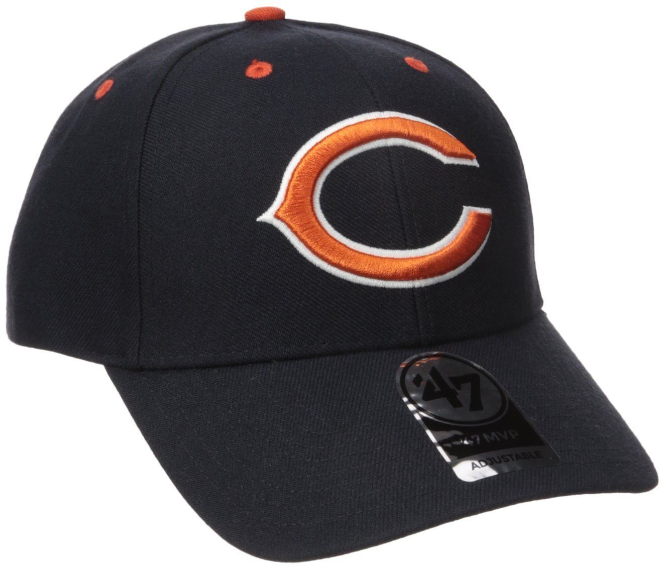 455f4471f Chicago Bears NFL  47 MVP Adjustable Hat