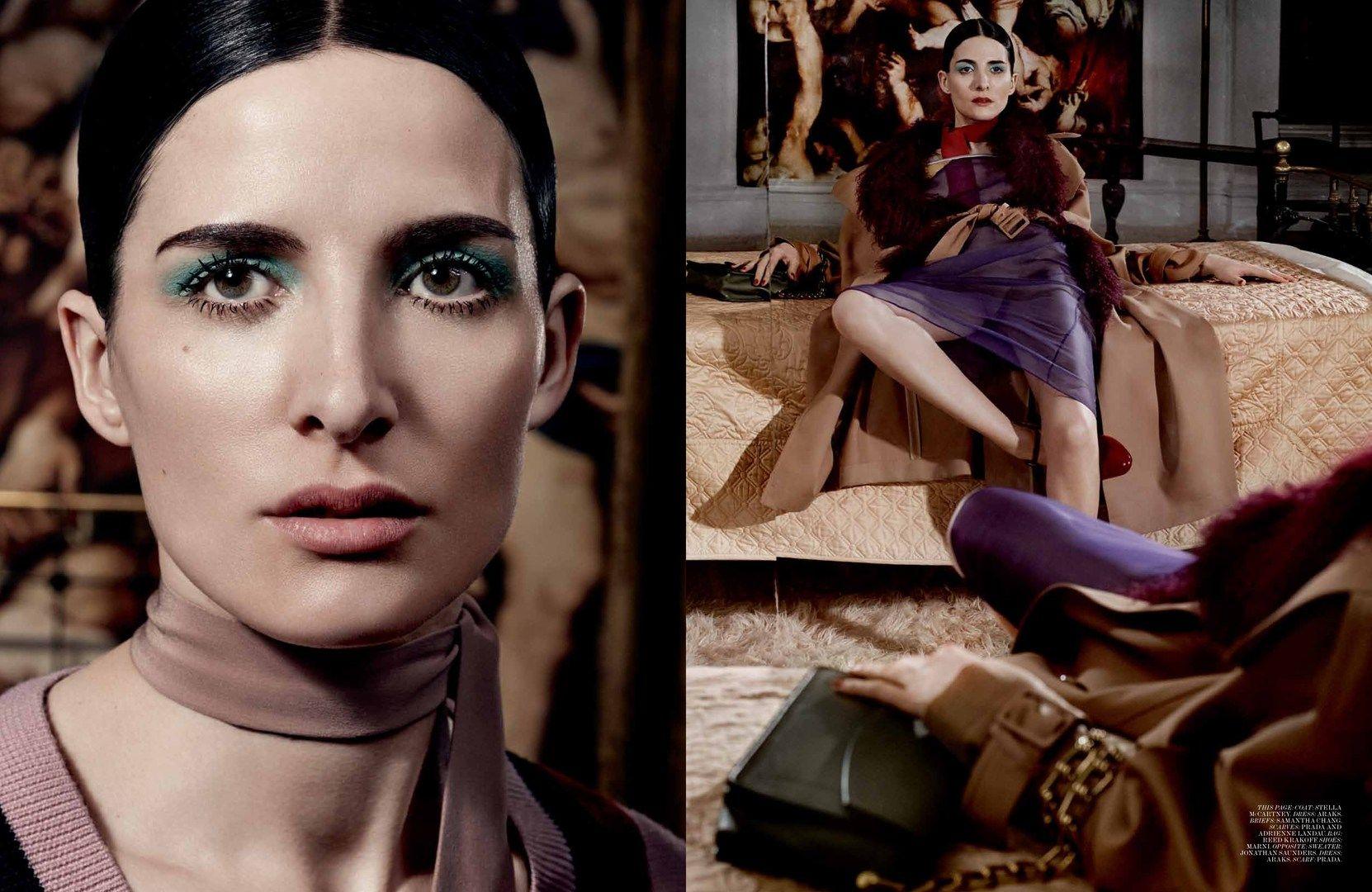 Interview May 2014 Ph Craig McDean St Karl Templer models Kim Peers & Querelle Jansen lookbooks