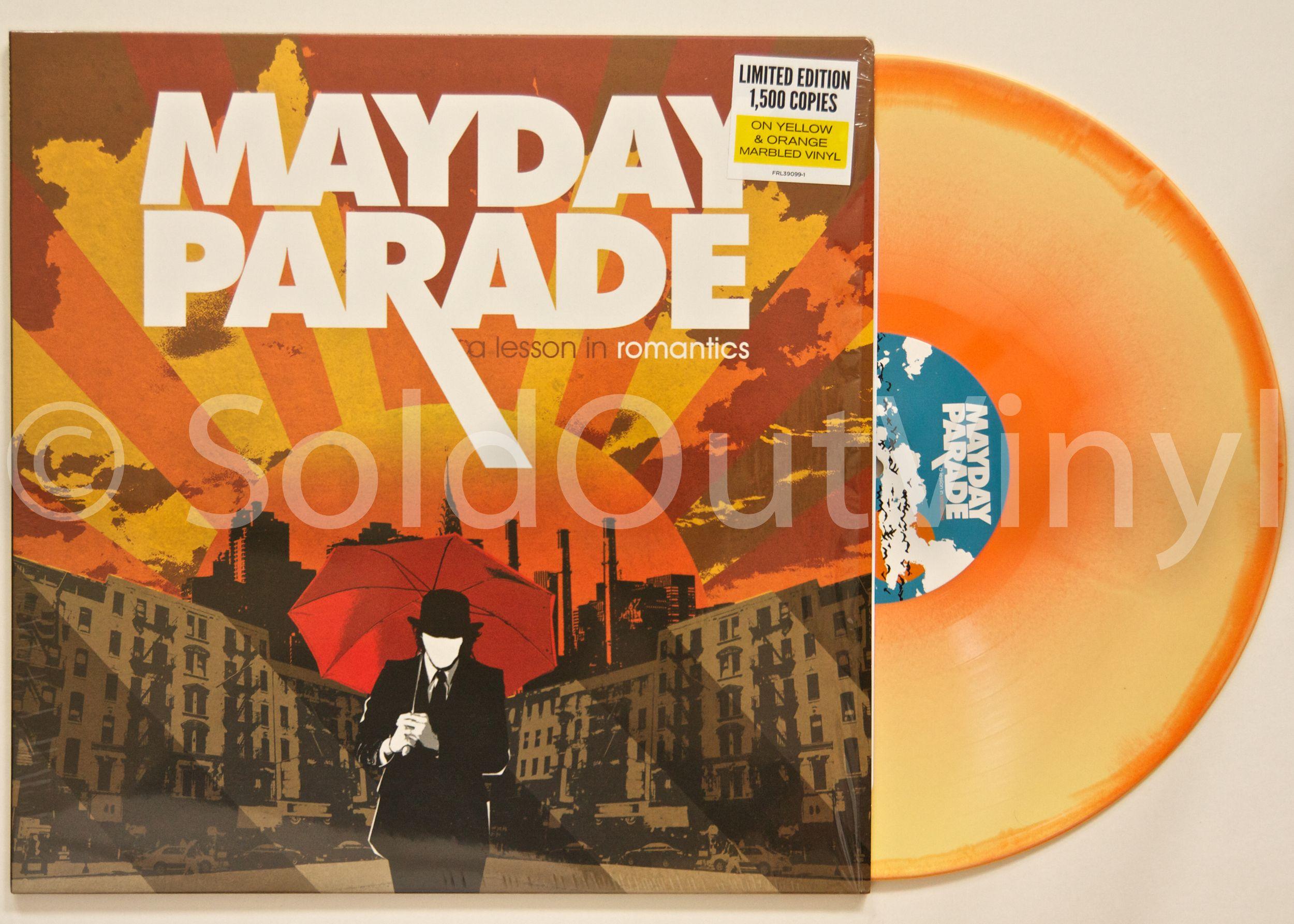 Mayday Parade A Lesson In Romantics Vinyl Lp Soldoutvinyl Mayday Parade Vinyl Romantic