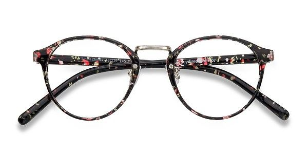 a73e560989 Small Chillax Red Floral Plastic Eyeglasses from EyeBuyDirect. Exceptional  style