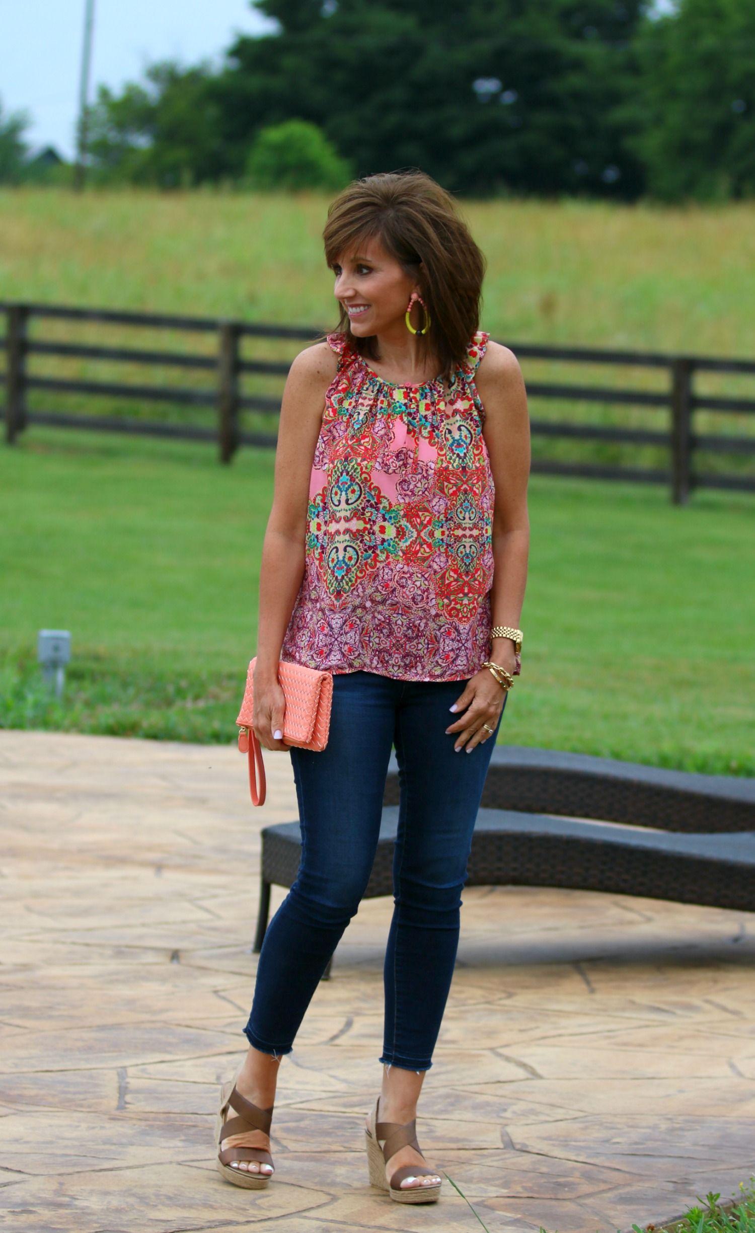 22 Days of Summer Fashion-Stitch Fix Giveaway - Cyndi Spivey