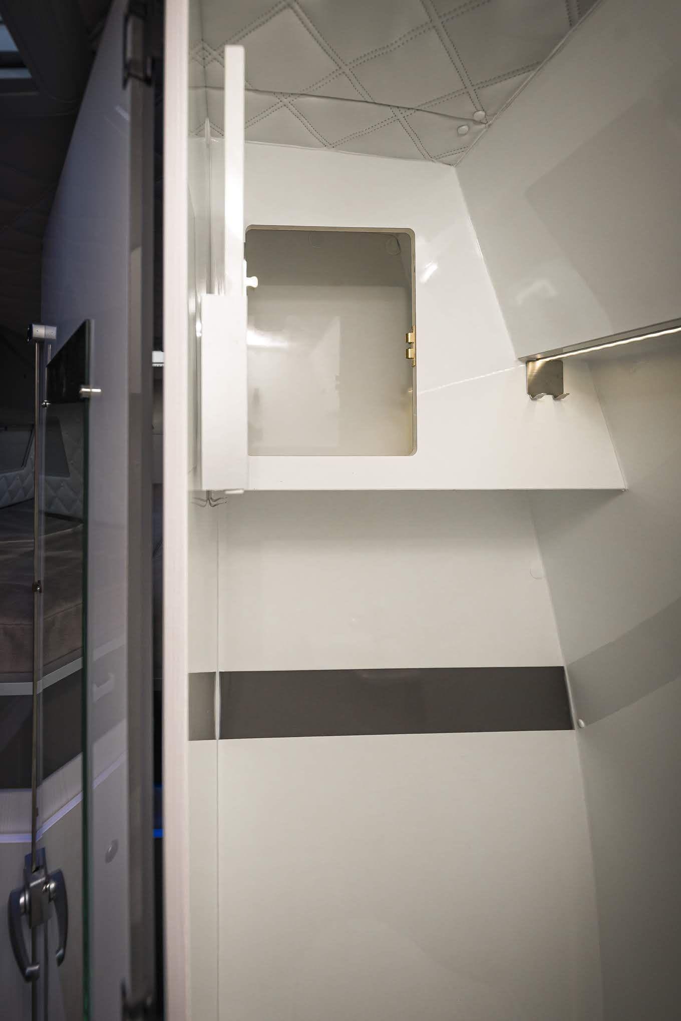 Wohnmobil Dusche WC in 8  Mercedes sprinter, Dusche, Ktm