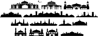 Download Vektor Gambar Masjid Cdr Bisa Dipakai Membuat Spanduk