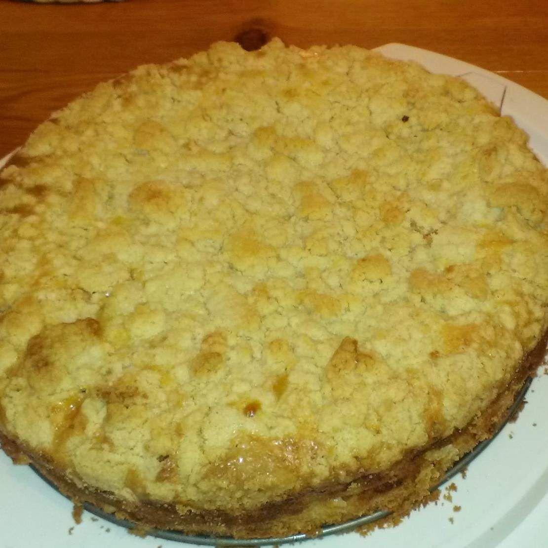 Apfelkuchen Mit Schmand Und Streuseln Rezept Rezepte Kuchen
