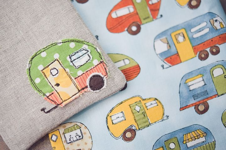 Camper applique sunglass case by traci on stolen moments