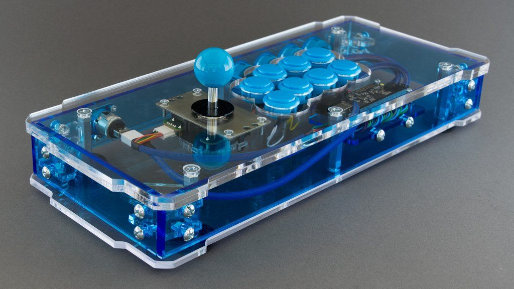The C E O Fully Assembled Arcade Stick Joystick Arcade Stick Arcade Pi Projects