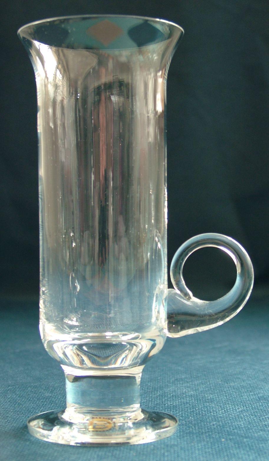 Flight Tracker Dartington Glass Bud Vase Dartington