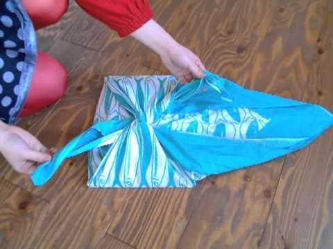 FUROSHIKI comment faire un sac avec un tissu japonais1