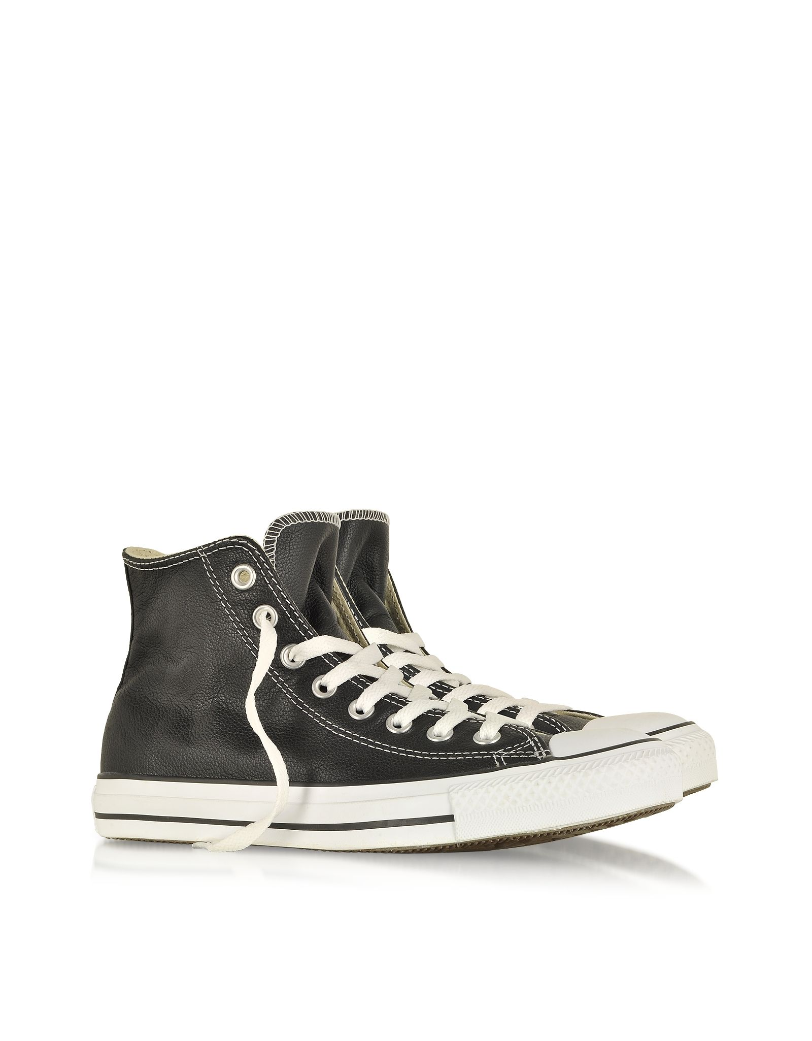 9b7179c5c982 Converse Limited Edition Chuck Taylor Leather Black Sneaker 3.5 (5.5 WOMENS  US