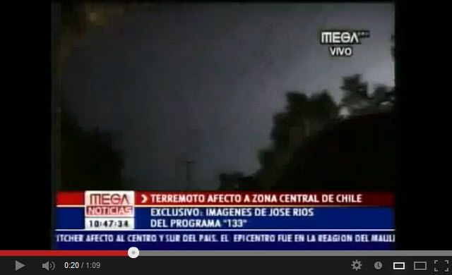 HAARP - doomsday weapon - before the earthquake in Chile