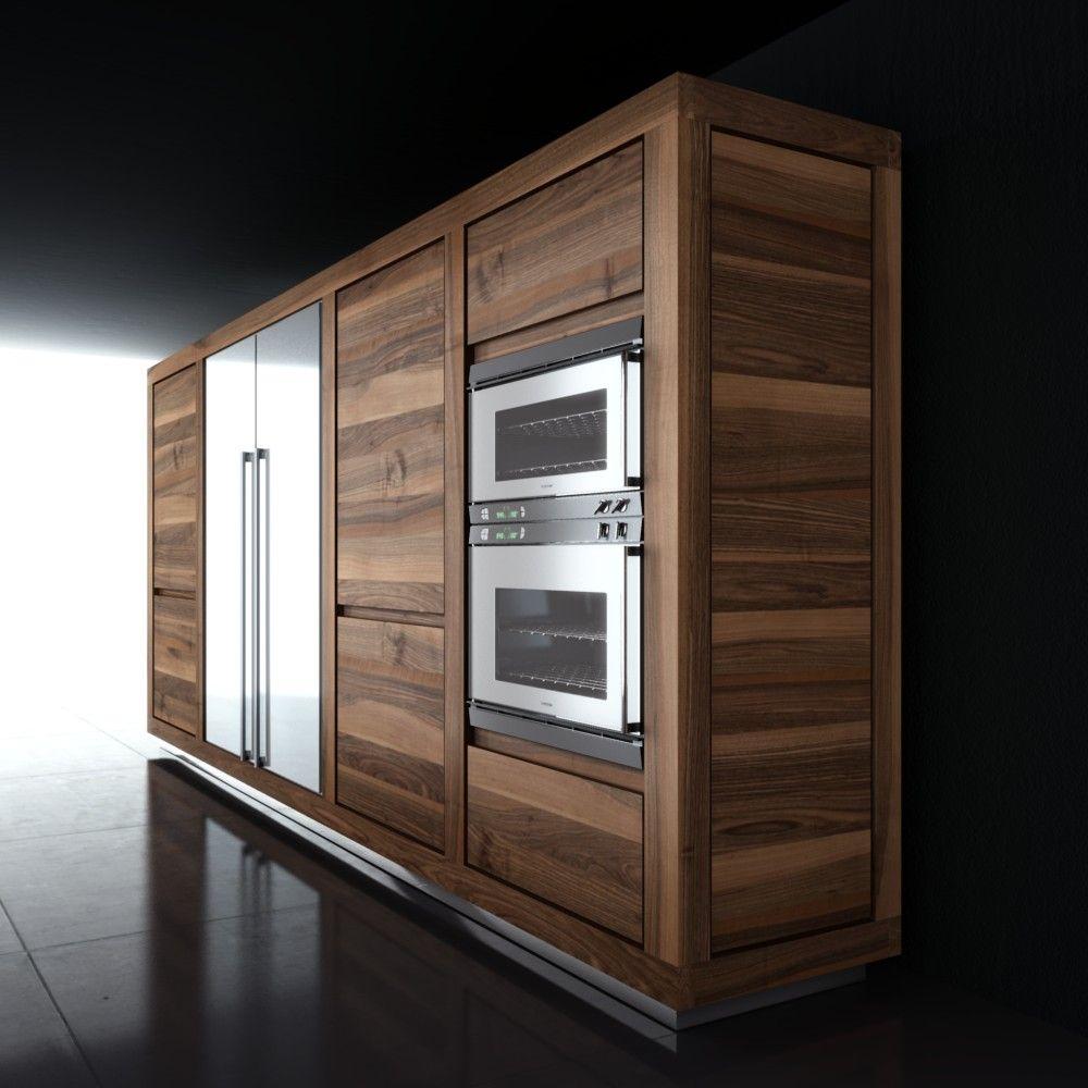 Solid Wood Kitchen Walnut Cabinets: Idaho Walnut Cabinets W/color Variation