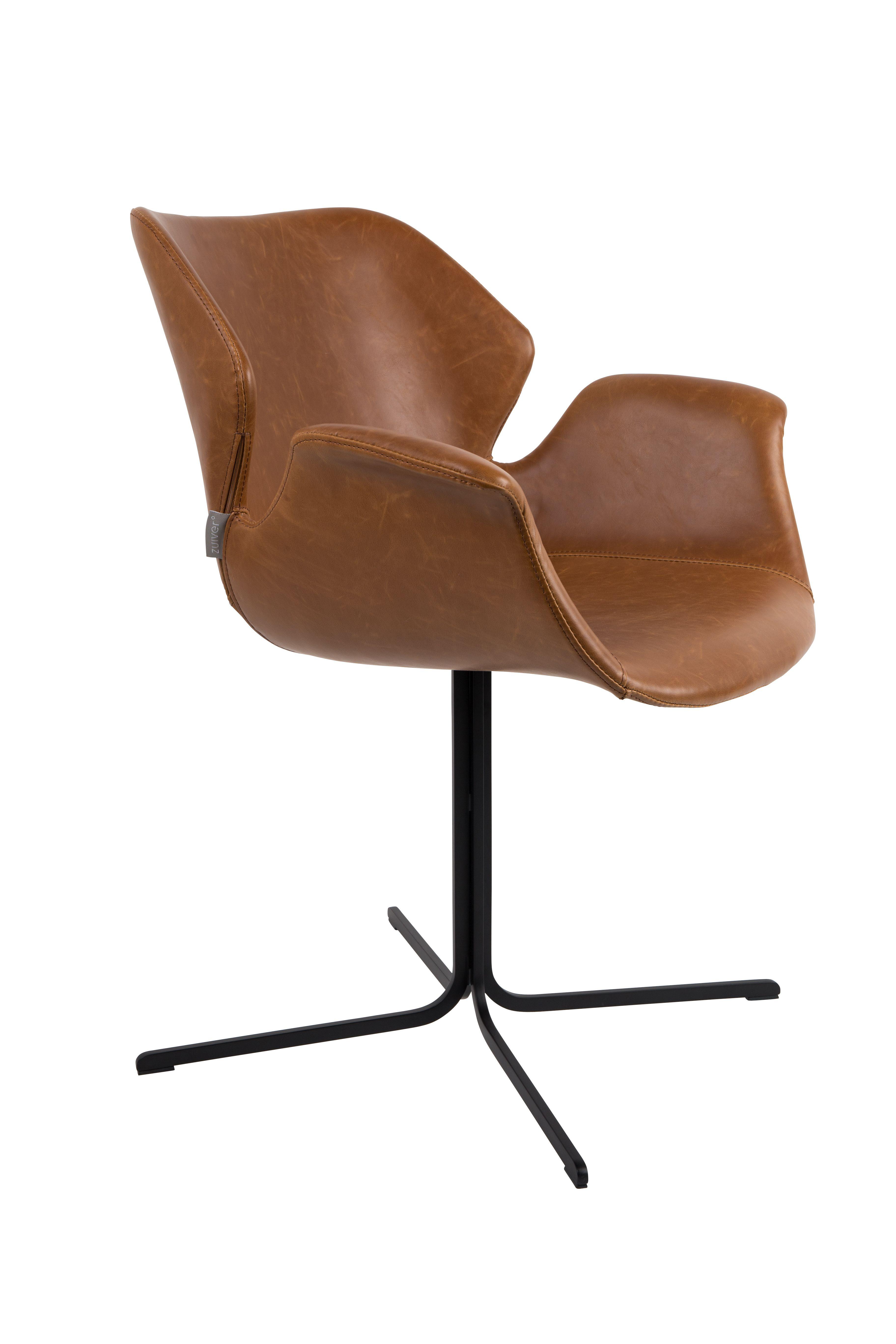 Nikki armchair - All Brown | Zuiver Chairs | Pinterest | Armchairs ...