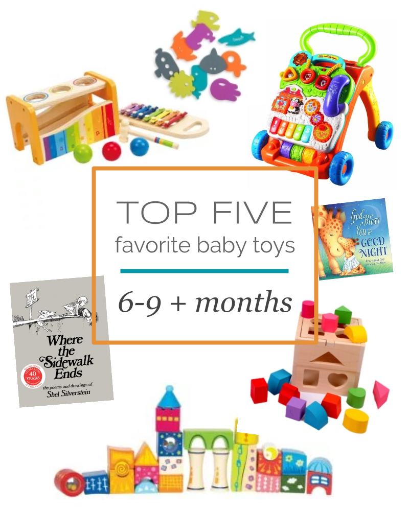 Top 5 Favorite Baby Toys for Age 6-9+ Months. Plus the 2 books we are  LOVING right now! Baby Gift Guide   Registry Favorites 918cf7ef7c29
