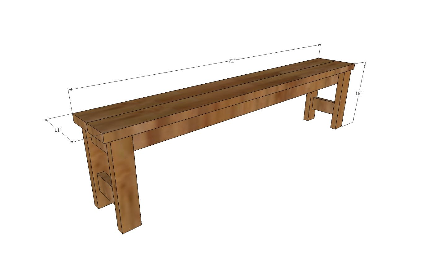 Beginner Farm Table Benches (2 Tools + $20 In