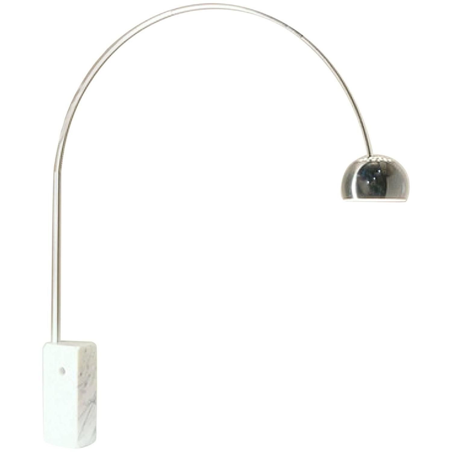 Achille And Pier Giacomo Castiglioni Arco Lamp For Flos 1stdibs Com Arco Lamps Lamp Floor Lamp Lighting