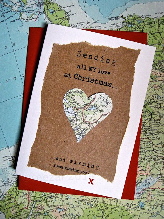 Across the Miles Christmas. Long Distance Love Sending