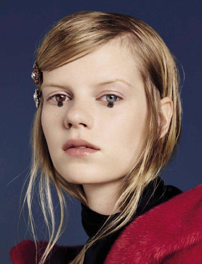 pradafied:  Kadri Vahersalu photographed by Ben Toms for Vogue Italia August 2015