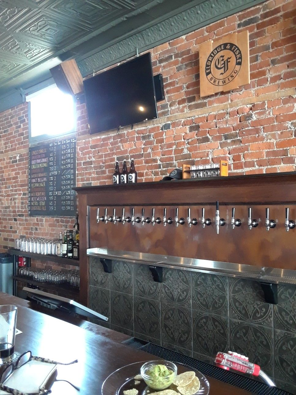 Amazing A View From The Bar At Eldridge Fiske Brewery And Taproom Machost Co Dining Chair Design Ideas Machostcouk
