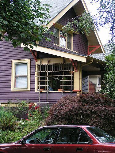 unusual exterior color combinations | Exterior Color Schemes ...