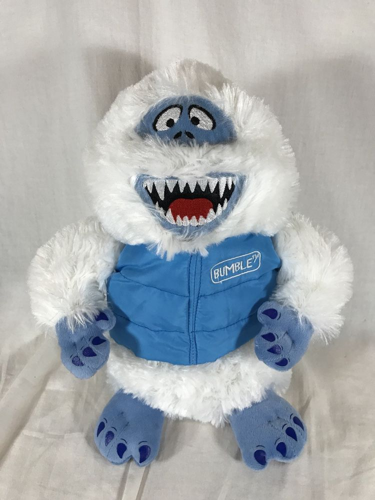 Dan Dee Bumble Abominable Snowman Rudolph The Red Nosed Reindeer Plush  Stuffed  DanDee 5f3c3a9ca