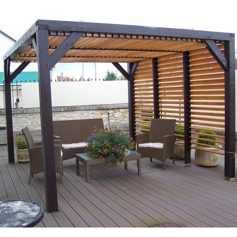 Cozy house backyard extension design ideas: inspiring pergola with ...