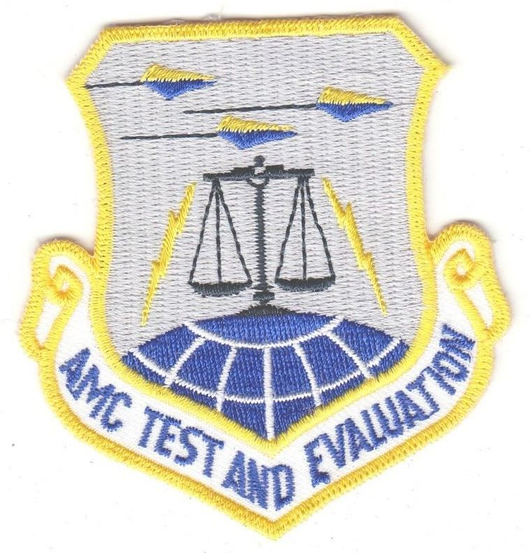 USAF Air Force Patch Mobility Command Test And Evaluation