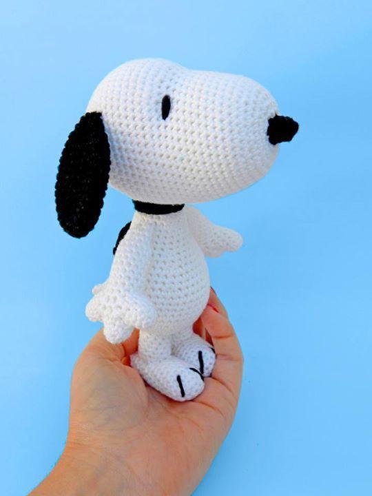 Amigurumi Dog Snoopy Free Crochet Pattern - Amigurumi | Patrones ... | 720x540