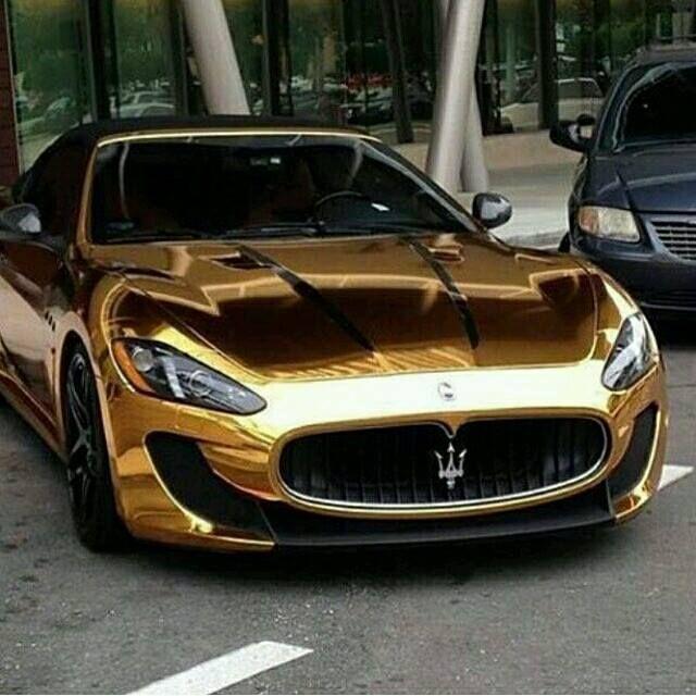 Perfect Gold Maserati