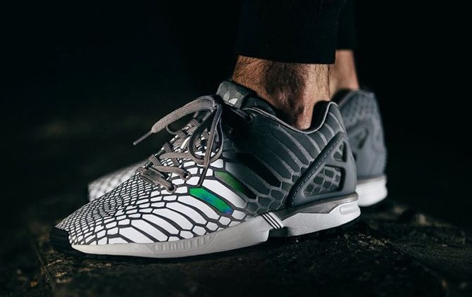 Adidas ZX Flux Xeno light responsive ❤️ | Adidas shoes