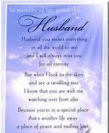 In Loving Memory Of My Husband Poems Bing Images Losing Pat