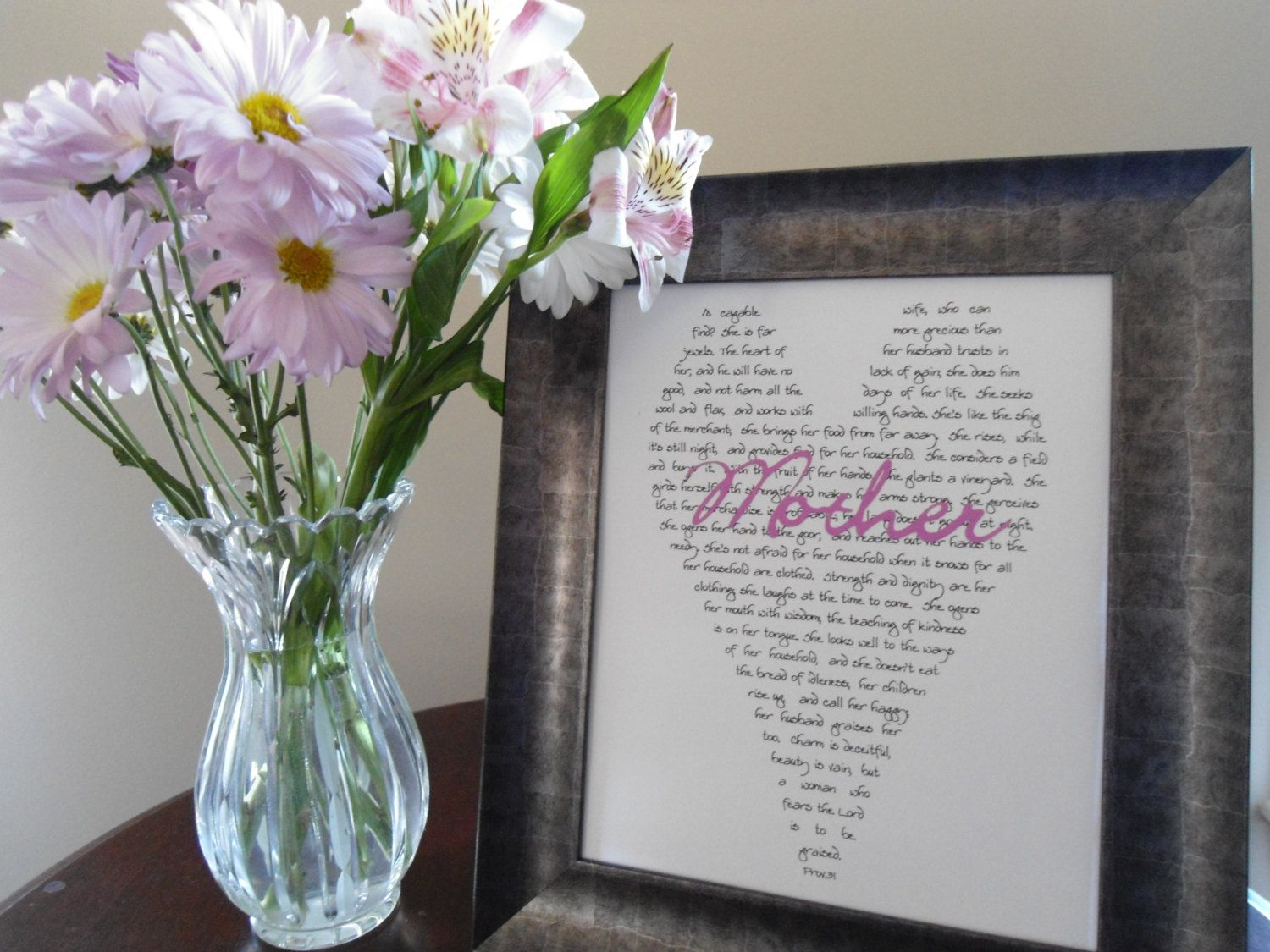 31 Wedding Anniversary Gift: Mother Of Bride Gift, Mom Print, Proverbs 31, Wedding Gift