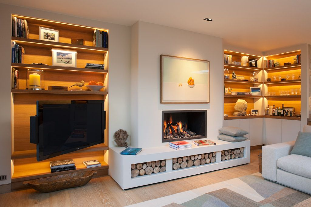 Kensington Residence with bespoke joinery by kaizen furniture ...