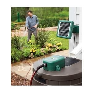 I Pinned This From Shopwiki Com Solar Powered Rain Barrel Water Pump Is Suitable In Harsh Weather Conditions Pumps Up To 100 Gallons On A Single Rain Barrel