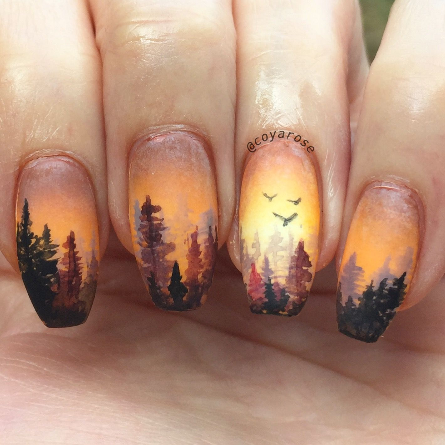 Teens forest nail
