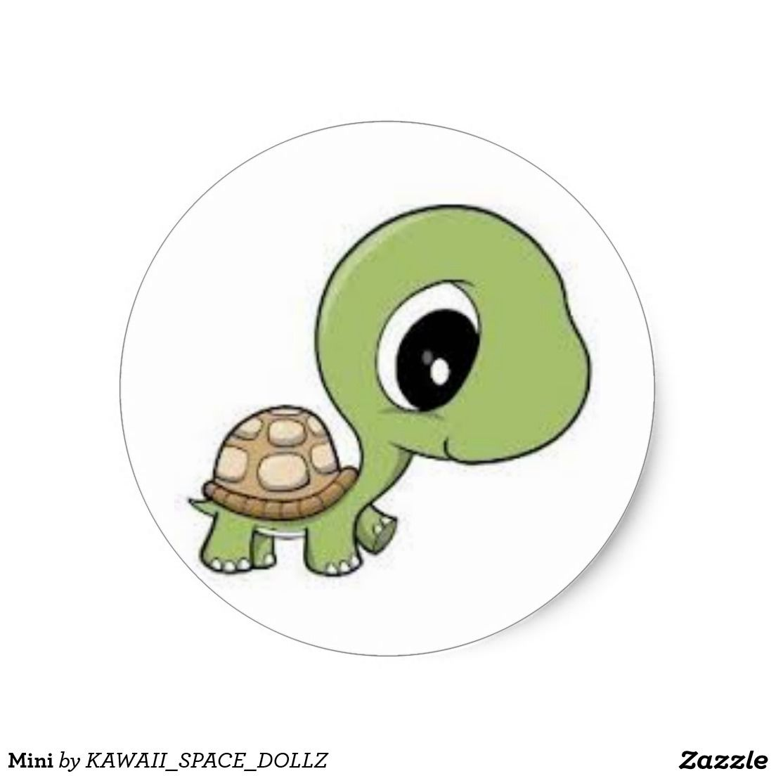 Mini Classic Round Sticker Zazzle Com With Images Cartoon