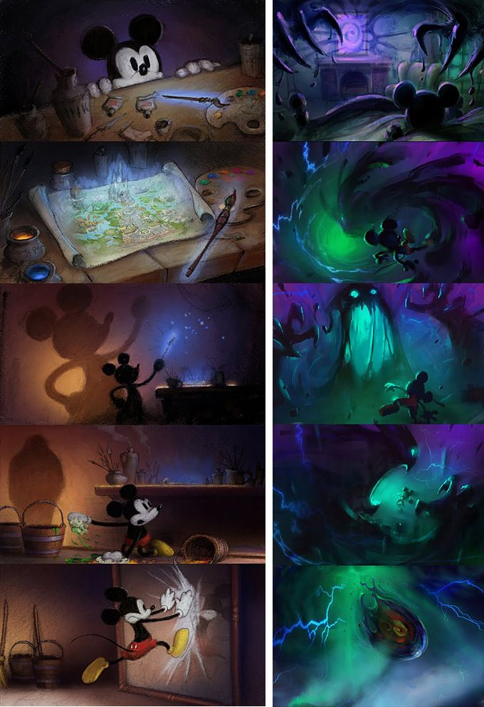 Epic Mickey Wiki Concept Art
