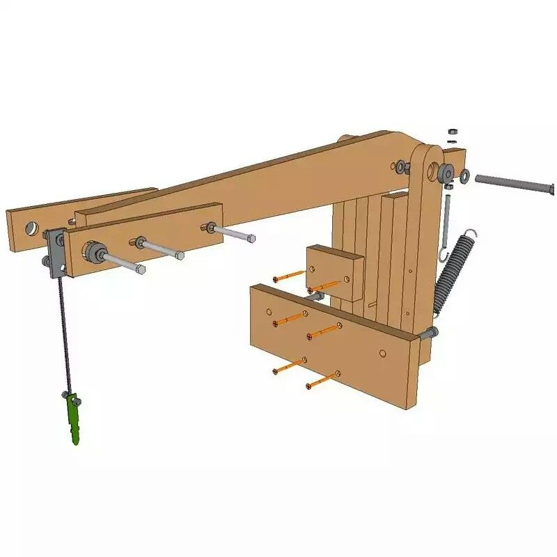 Planos para fabricar tu sierra de marqueteria portable for Planos de carpinteria de madera