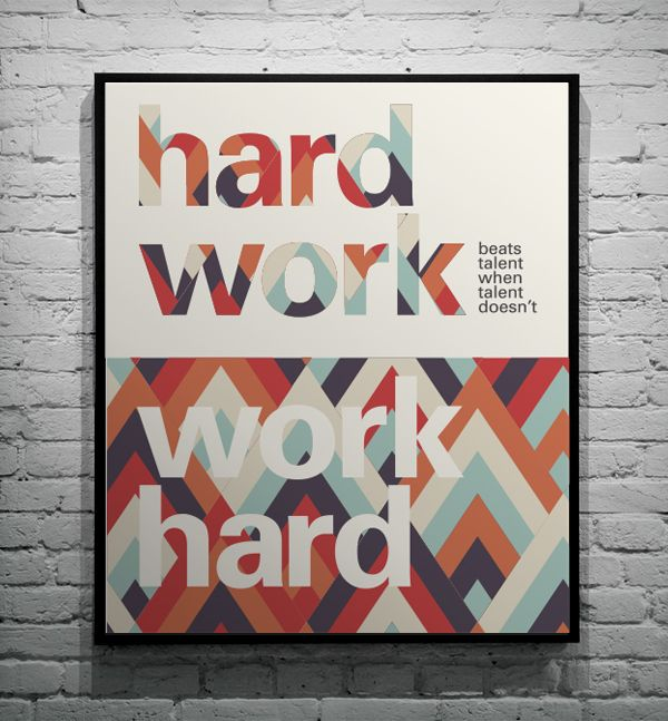 Typographic Quotes 1 by Martha Markovsky