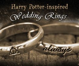7 whimsically awesome harry potter themed wedding ideas - Harry Potter Wedding Rings