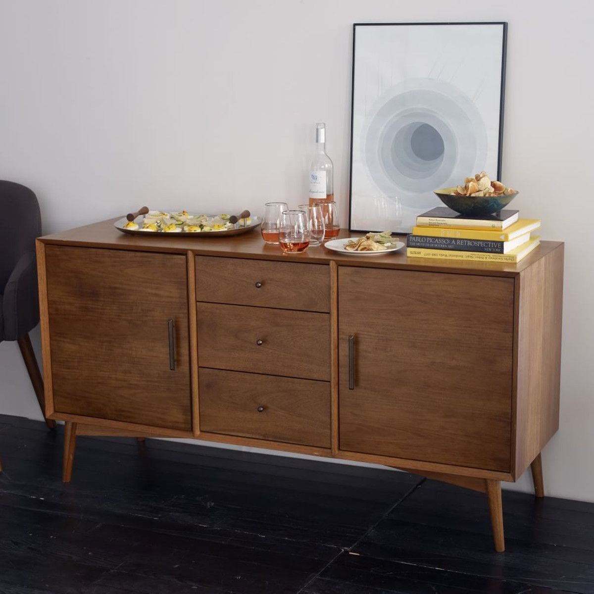 Sideboard Mid Century for the dining room you put the fancy cutlery table linen inside